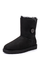 Угги UGG Bailey Button Black