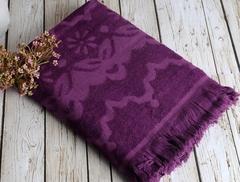 DAISY Mor (фиолетовый)  полотенце пляжное бамбуковое  IRYA (Турция)