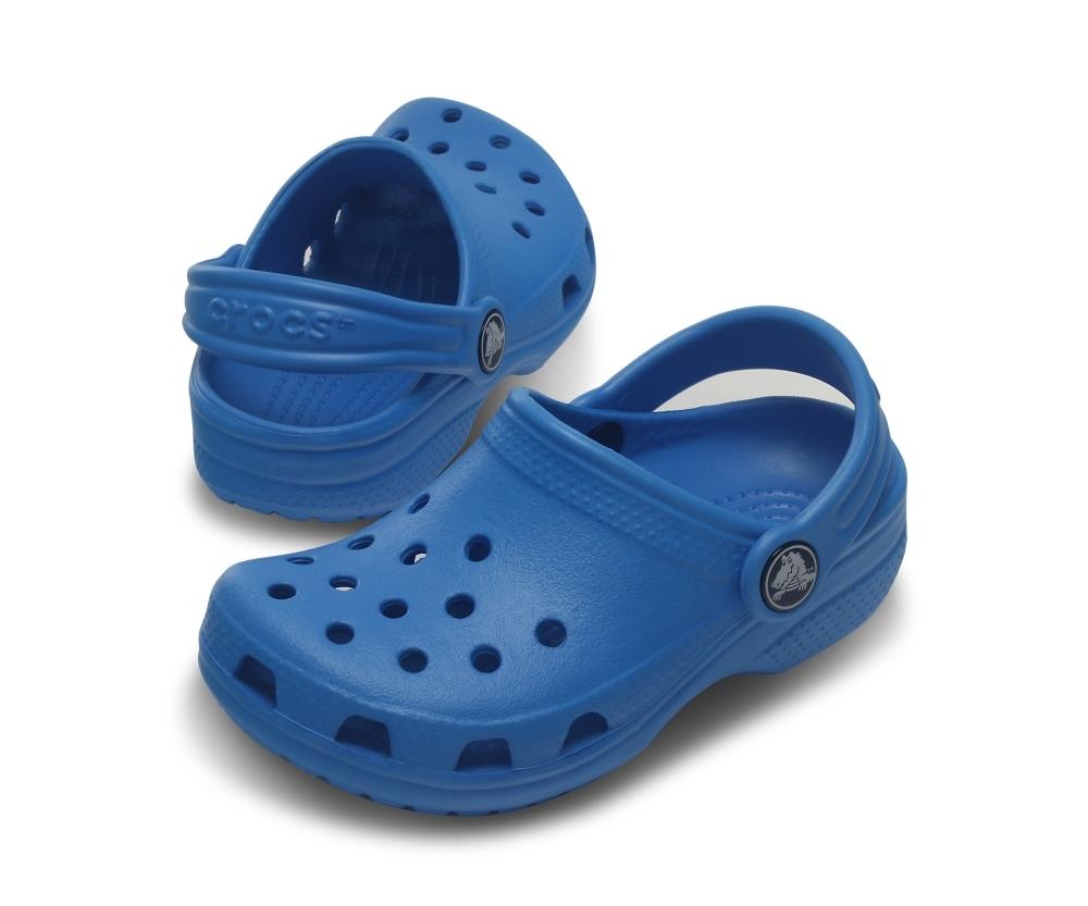 Фото детские сабо Crocs Kids' Classic Ocean 10006