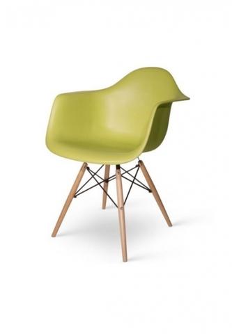 стул  EAMES DAW, зеленый