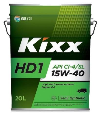 L2015P20E1  Kixx HD1 CI-4 15W-40 синтетическое моторное масло (20 литров) официальный сайт партнера ht-oil.ru