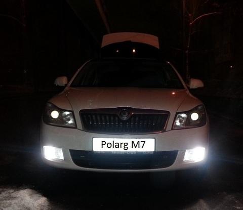 Дополнительные лампочки заднего хода и передних габаритов POLARG M-7