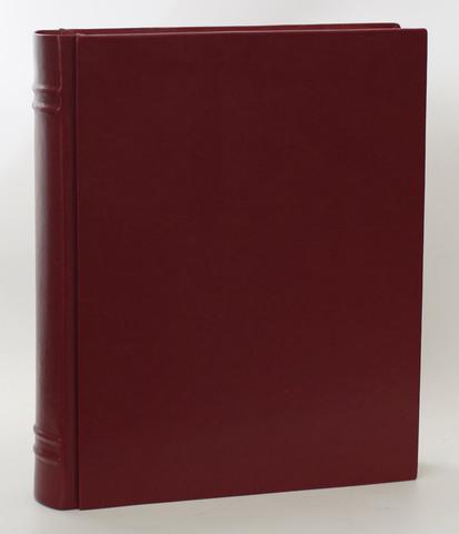 Фотоальбом Книга бордо эко-кожа 32см*42см