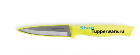 Нож Гурман разделочный в желтом цвете
