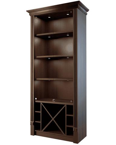 фото 1 Шкаф для элитного алкоголя со стеклянными дверцами и секциями Евромаркет LD 004-CT на profcook.ru