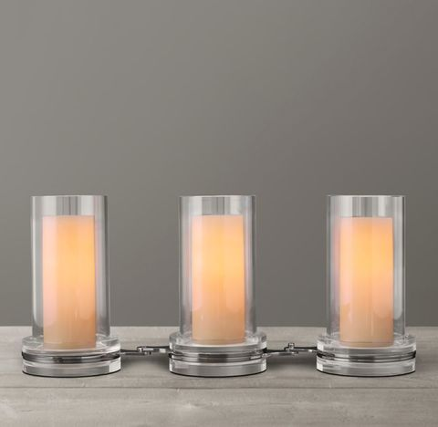 Cerceau Link Candleholders Short (Set of 3)