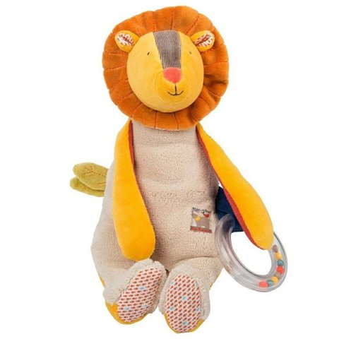 Moulin Roty. Многофункциональная мягкая игрушка Лев