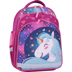 Рюкзак школьный Bagland Mouse 143 малиновый 504 (0051370)