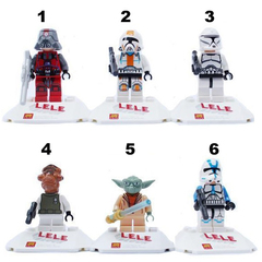 Minifigures Star Wars Blocks Building Series 02