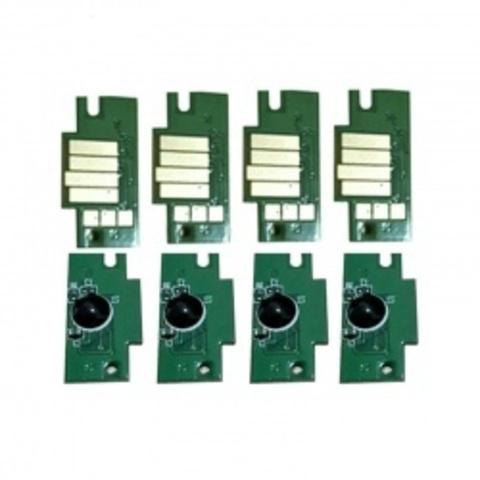 Комплект чипов для Canon PFI-1100, PFI-1300, PFI-1700 для imagePROGRAF PRO-4000s, PRO-6000s. Комплект 8 штук. не обнуляемые