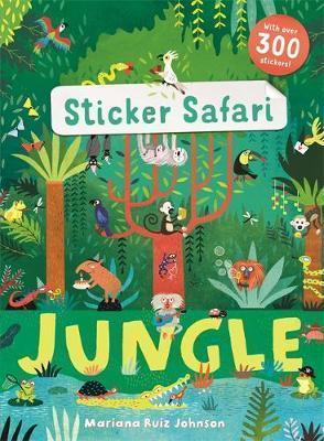 Kitab Sticker Safari: Jungle | Ruth Symons