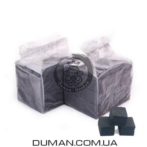 Натуральный кокосовый уголь Crown Airflow (Краун) для кальяна  0,5кг 36куб 25*25мм
