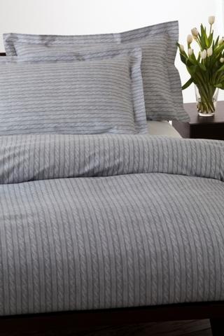 Постельное белье 2 спальное евро макси Mirabello At Home светло-серое