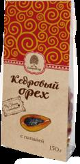Смесь фруктово-ореховая, Сибирский Кедр, папайя, кедровый орех, 150 г