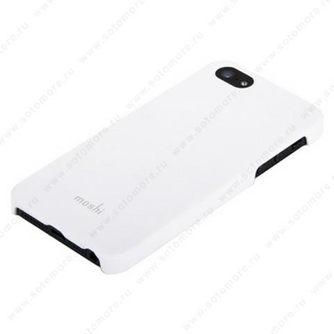 Накладка Moshi пластиковая для iPhone SE/ 5s/ 5C/ 5 белая