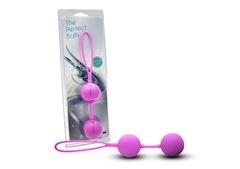 Силиконовые вагинальные шарики со смещенным центром тяжести (4 см.; 100 гр.)