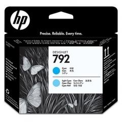 Печатающая головка HP 792 (CN703A) Cyan-Light Cyan