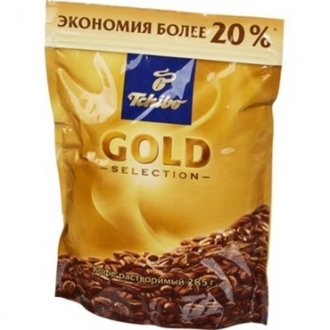 Кофе Tchibo Gold Selection раств.субл.285г пакет