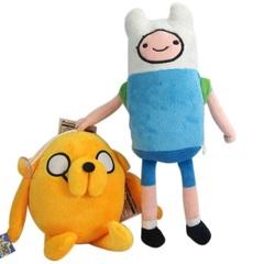Время приключений набор мягких игрушек Финн и Джейк