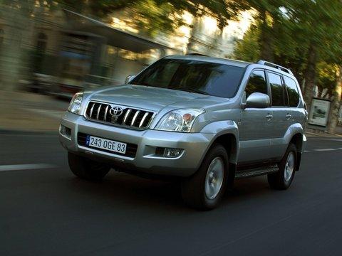 Чехлы на Toyota Land Cruiser Prado 120 2002–2009 г.в.