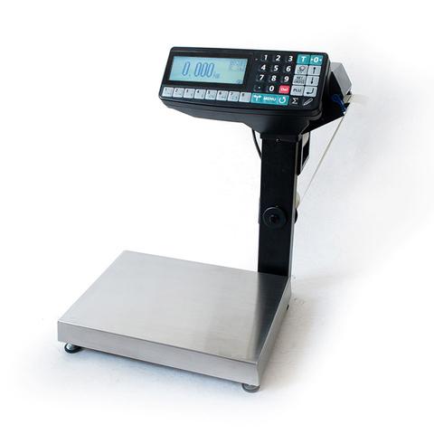 Весы с печатью этикеток Масса-К MK-RP10-1 с устройством подмотки