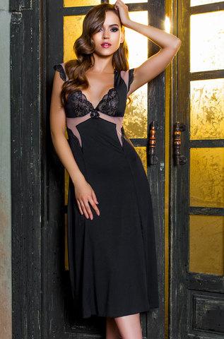 Сорочка женская с кружевом  MIA-MIA Elegance de lux  ЭЛЕГАНС 12038