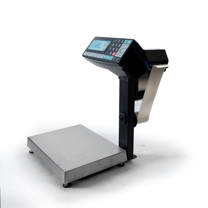 Весы с печатью этикеток Масса-К MK-RP10-1 с устройством подмотки 002