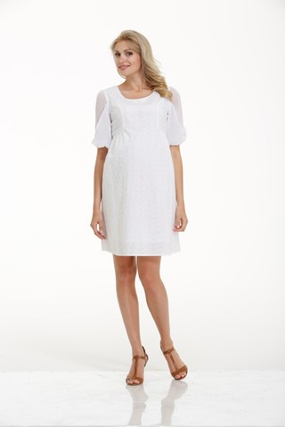 Платье для беременных 05658 белый