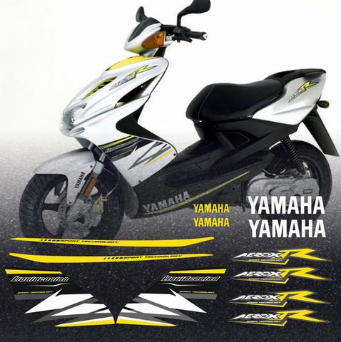 Набор виниловых наклеек на мотоцикл YAMAHA AEROX