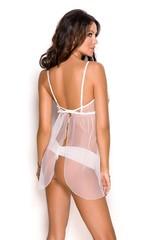 Kaylee - Комбинация с открытой грудью и стринги