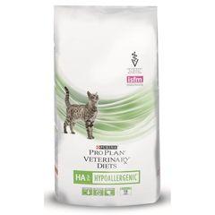 Purina Pro Plan Veterinary Diets HA ST/OX Hypoallergenic для взрослых кошек и котов при аллергиях