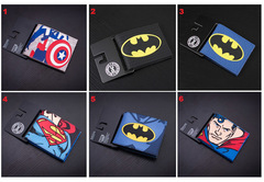 DC Comics Marvel Wallet Set 1