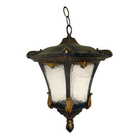 Светильник садово-парковый, 100W 230V E27 черное золото, 8003M (Feron)