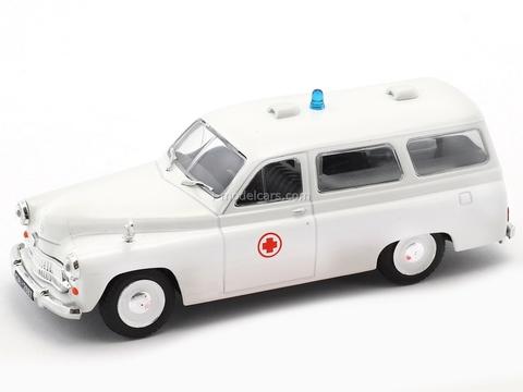 Warszawa 202A Ambulance white 1:43 Kultowe Auta PRL-u