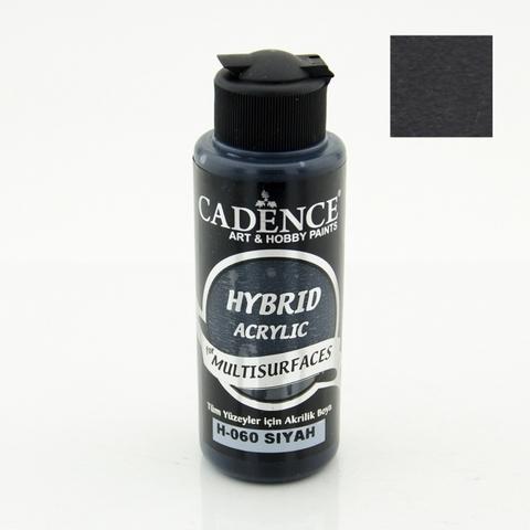 №60 Hybrid Acrylic,Черный, 70мл., Cadence