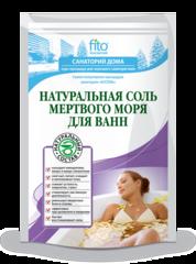 Соль для ванн Натуральная мертвого моря 500 г. ТМ Фитокосметик