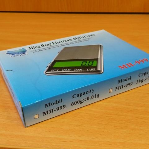 Электронные весы MH-999 до 3 кг.