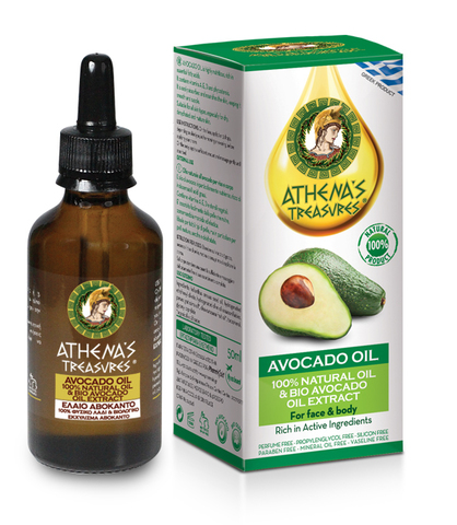 Натуральное масло Авокадо Athena Treasures