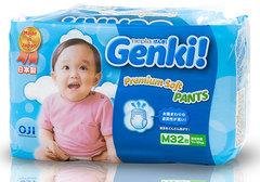 Подгузники-трусики GENKI (7-10кг) M, 32шт