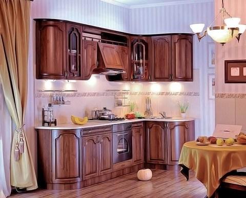 Кухня САНТОРИНИ орех