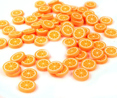 фимо палочка апельсин