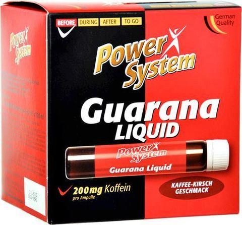 Гуарана Ликвид 200 мг (кофейно-вишневый), АМПУЛЫ Пауэр Систем
