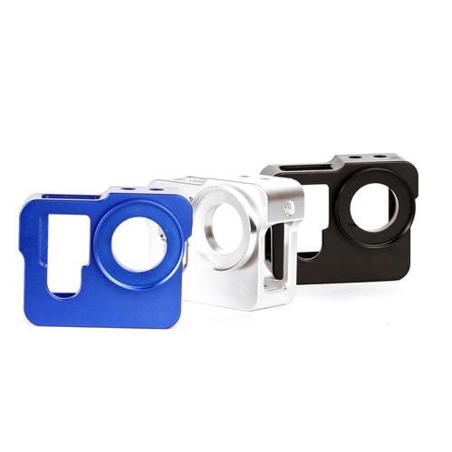 Алюминиевый корпус для GoPro 3/3+ и 4 (Синий)