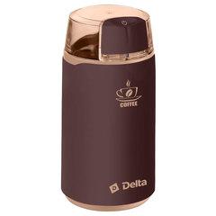 Кофемолка электрическая 250 Вт DELTA DL-087К коричневая