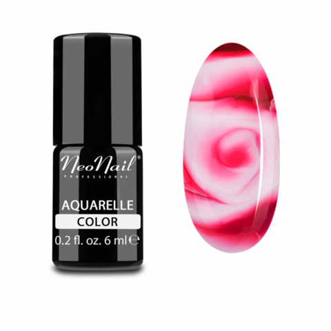 NeoNail Гель-лак акварельный UV 6ml Cherry Aquarelle №5754-1