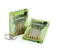 Натуральные палочки для чистки зубов из Лемонграсса