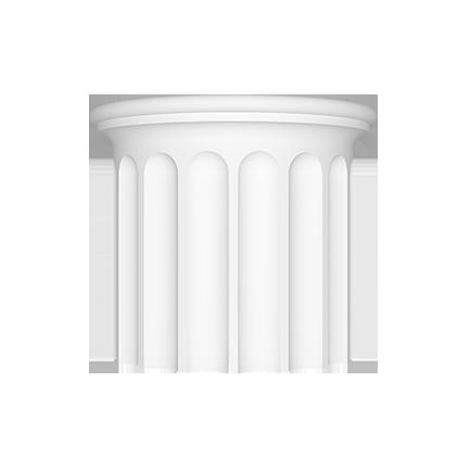 Ствол (полуколонна) Европласт из полиуретана 4.16.003, интернет магазин Волео