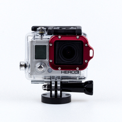 Алюминиевая рамка для бокса для GoPro 3 (Blue)