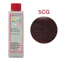 CHI Ionic Shine Shades Liquid Color  5CG  (Средний медно-золотой коричневый) - Жидкая краска для волос