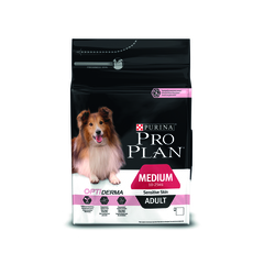 Pro plan medium adult sensitive skin with salmon & rice dog